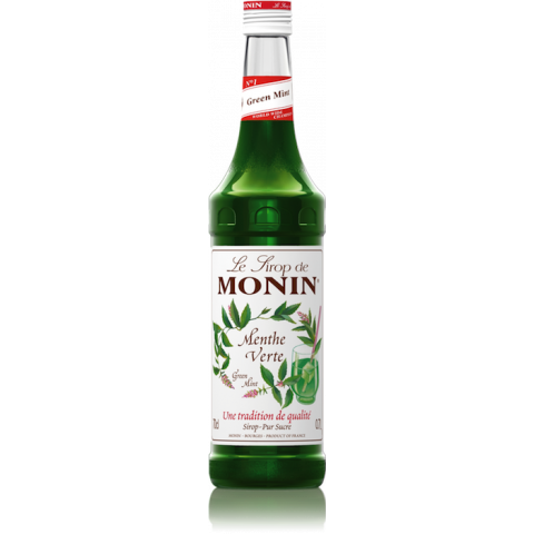 Monin, Green mint szirup 0,7 l