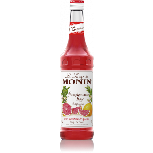 Monin, pink grapefruit szirup, 0,7 l