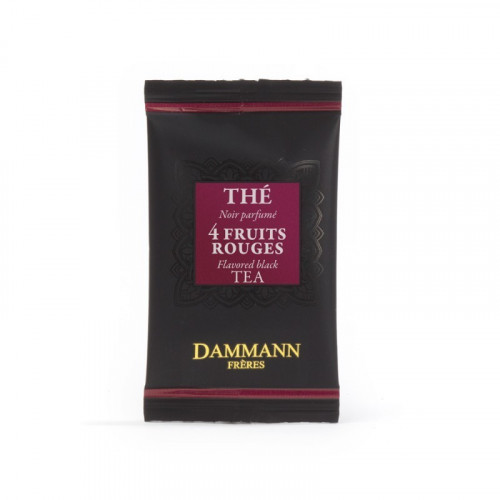 "Dammann, ""4 Fruits Rouges"" kristályfilteres fekete tea, 500 db"
