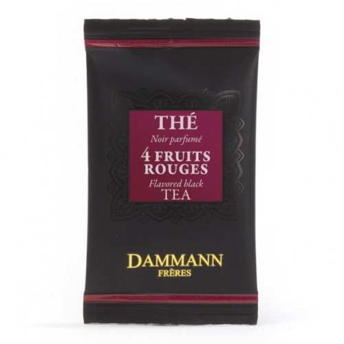 "Dammann, ""4 Fruits Rouges"" kristályfilteres fekete tea, 500 db - EspressoShop.hu"