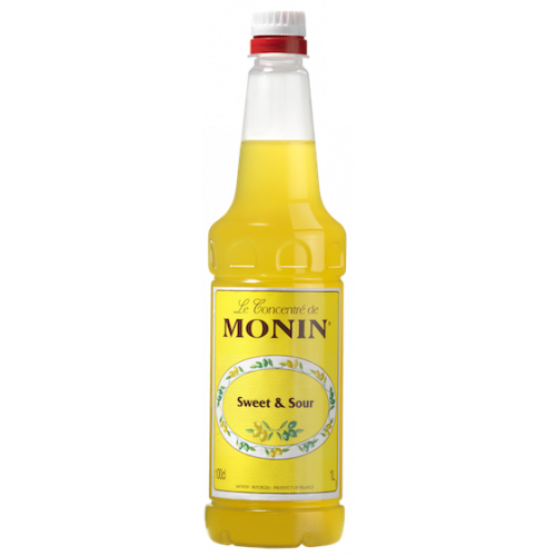 Monin, sweet and sour cordial mix szirup 1 L